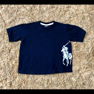 Polo Ralph Lauren Boys Navy tee size 4T